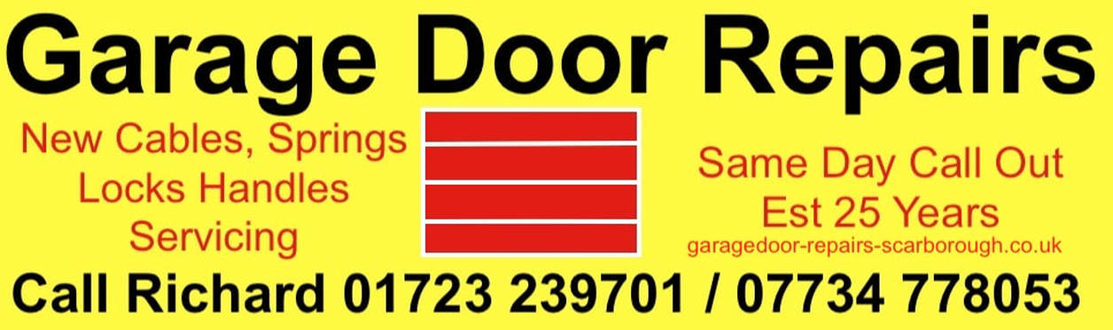 New garage door wires bobbins repairs Scarborough, Hunmanby, Filey